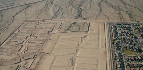 "Approved but undeveloped or incomplete ""zombie subdivisions"" are scattered across the landscape in the Intermountain West, according to the Lincoln Institute of Land Policy report Arrested Developments: Combating Zombie Subdivisions and Other Excess Entitlements http://www.lincolninst.edu/pubs/2339_Arrested-Developments-Combating-Zombie-Subdivisions-and-Other-Excess-Entitlements.  (PRNewsFoto/Lincoln Institute of Land Policy)"