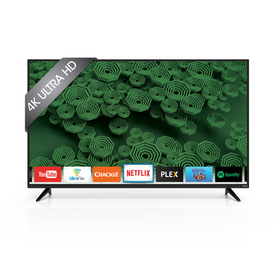 VIZIO D-Series Smart TV and 4K Ultra HD Models Now Available at Walmart Canada. Offerings Feature Full-Array LED Backlighting with Up to 14 Active LED Zones for Deeper Black Levels and Added Contrast.