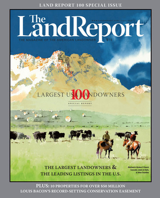 2012 Land Report 100.  (PRNewsFoto/The Land Report 100)