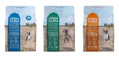 Open Farm Dog Food is the first producer of Certified Humane Raised and Handled pet food in the U.S.