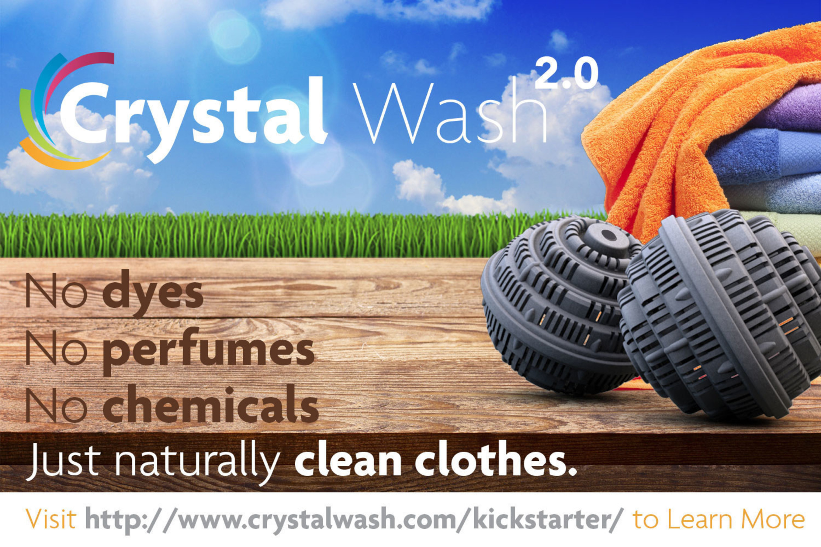 No Dyes, No Perfumes, No Chemicals... Just Naturally Clean Clothes.