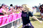 Fergie at the Avon Walk for Breast Cancer Santa Barbara on September 23, 2012.  (PRNewsFoto/Avon Foundation for Women)