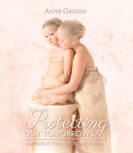 Anne Geddes Unveils New Book Highlighting the Courage and Promise of Meningococcal Disease Survivors in Honor of World Meningitis Day (PRNewsFoto/Anne Geddes)