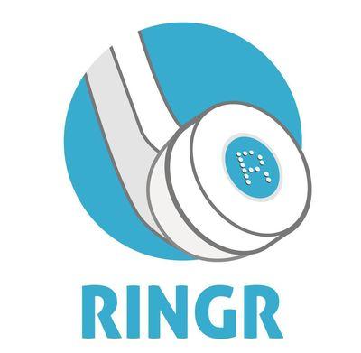 Ringr Logo (PRNewsFoto/Ringr)