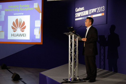Mr. Leon He, President of Huawei Enterprise Business Group in Western Europe, shared views and insights on the ...