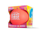 Catch the Big One! The Big Kahuna, Waboba's newest--and largest--most versatile water bouncing ball. The bigger circumference slows down the ball's speed, making it perfect for indoor and outdoor pools as well as open water or puddle play. At four-inches in diameter, the Big Kahuna is easier to catch and grip, especially in smaller hands, which is great for skill development for youngsters and new players of any age. At a suggested retail price of just $7.99, the Big Kahuna is sure to make a big splash at retail.  (PRNewsFoto/Waboba)