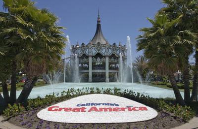 California's Great America theme park. (PRNewsFoto/Santa Clara Convention and Visitors Bureau, Scott R. Craig)
