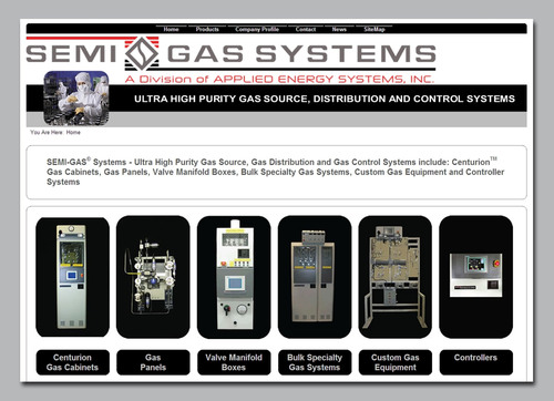 Redesigned SEMI-GAS Website Provides Increased Technical Information