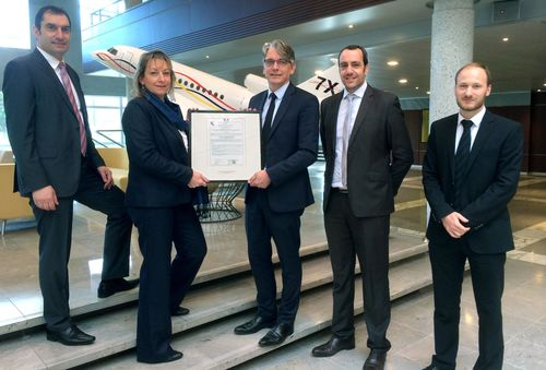 Dassault Aviation receives regulatory approval from the EASA to operate as a Part 147 Training Center ...