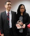 MHS Health presents Maria Editha Bautista-Santos, MD, with 7th Annual Summit Award