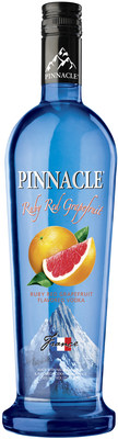 New Pinnacle Ruby Red Grapefruit Vodka joins an impressive list of over 40 premium flavors in the Pinnacle Vodka portfolio.