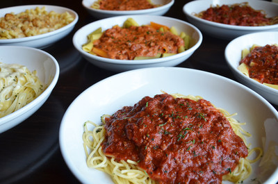 Olive garden s never ending pasta bowl celebrates 20th anniversary with more pasta combinations for Olive garden endless pasta bowl