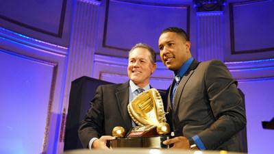 rawlings gold glove award winning catcher salvador perez of the kansas city royalstm