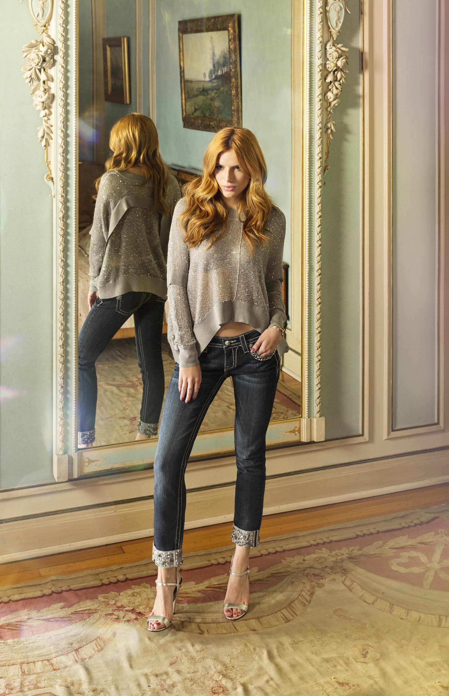 Bella Thorne for Miss Me Fall/Winter 2015 campaign, 'Let Yourself Shine'