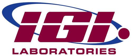 IGI Laboratories logo.  (PRNewsFoto/IGI Laboratories, Inc.)