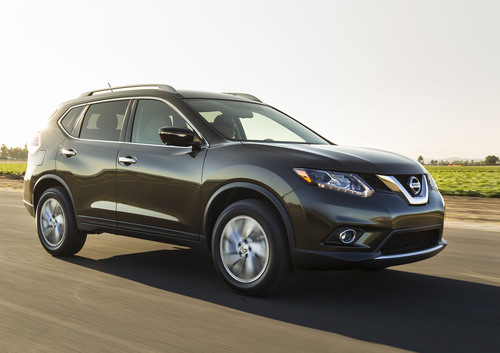 ALL-NEW 2014 NISSAN ROGUE MAKES U.S. DEBUT.  (PRNewsFoto/Nissan North America)