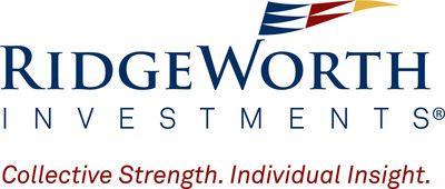 RidgeWorth Investments logo (PRNewsFoto/RidgeWorth Investments)