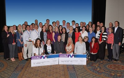 The VWR Foundation Donated Dollars in Honor of the VWR's Sales Force.  The recipients of the donations are St. Jude Children's Research Hospital for $90,000 and Leukemia & Lymphoma Society for $10,000.