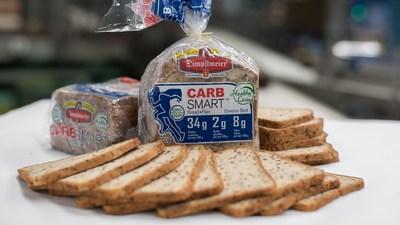 Dimpflmeier Bakery CARB SMART(TM) Bread: High Protein, Low Carb, High Fiber, No Sugar