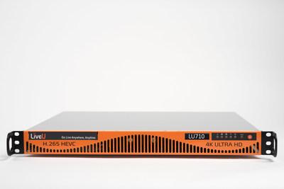 LiveU's LU710 4K/HEVC Encoder