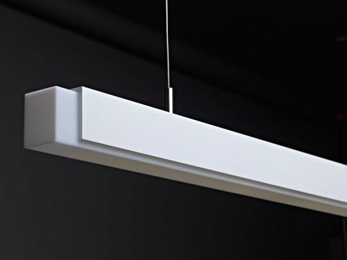 Amerlux Reveals Quintetta, Elegant, Clean, LED Decorative Linear Pendant.  (PRNewsFoto/Amerlux)