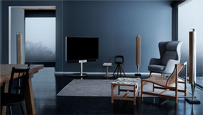 BeoVision Avant - a NEW 4K TV with intuitive simplicity and mechanical innovation (PRNewsFoto/Bang & Olufsen)
