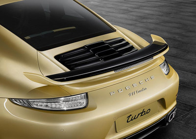 The new Aerokit for Porsche 911 Turbo and Turbo S models