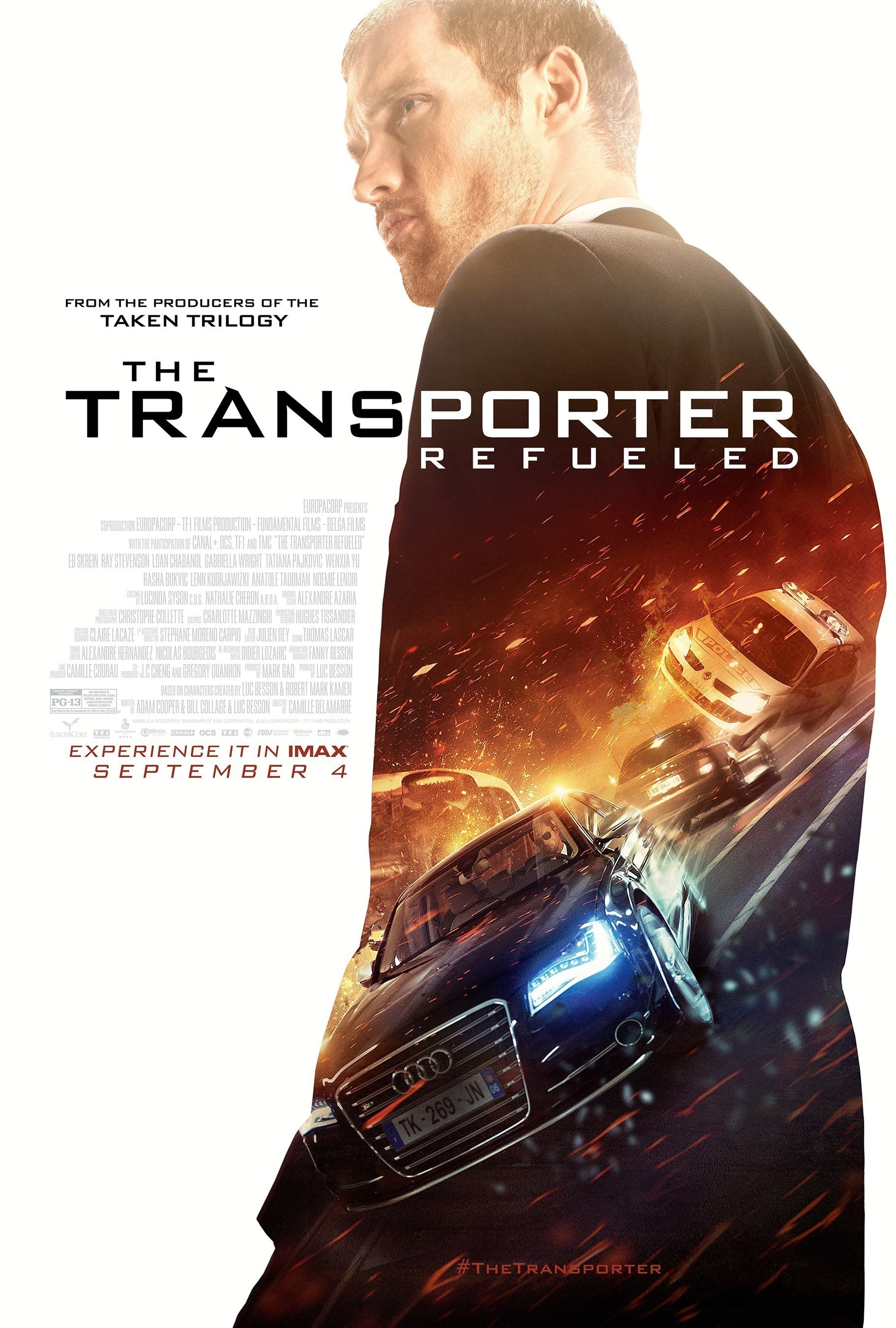 EuropaCorp's The Transporter Refueled To Be Released In Select IMAX' Theatres Globally Beginning September 4