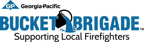 Georgia-Pacific Bucket Brigade grant program tops $1 million in support of firefighters.  (PRNewsFoto/Georgia-Pacific)