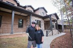 SFC Michael Schlitz US Army Ret. and Mother Robbie Schlitz at their new home in GA