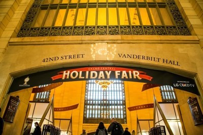 "LG OLED TV, the official sponsor of this year's Grand Central Terminal Holiday Fair, will be spreading extra holiday cheer with ""38 Days of OLED TV,"" offering attendees a chance to win an LG OLED TV each day through Dec. 24."