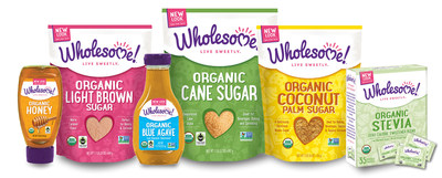 Wholesome Sweeteners, the leading U.S. brand of Organic, Fair Trade and Non-GMO sugars and sweeteners, has a new name and a new look. The Wholesome! logo and packaging incorporate a bright variety of colors, playful fonts and baking icons and quite literally leads with the heart. Not only is there a heart on the front of each item, but its packaging speaks about the love, care and consideration that was put into creating each product. The company will still sell its same beloved line of gourmet sugars, syrups, molasses, stevia and honeys.