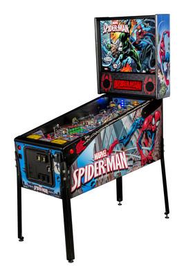 Stern Pinball Debuts Spider-Man Vault Edition Machine