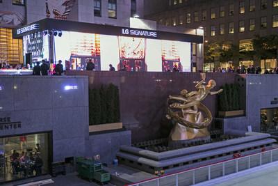 LG SIGNATURE Gallery unveiled in Rockefeller Center, New York