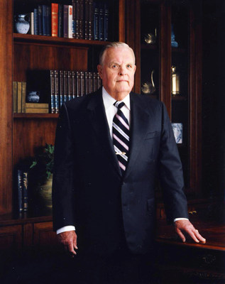 Robert L. Waltrip, founder and chairman of the board of Service Corporation International, shared how he took a family business with one location and grew it into the world's largest provider of death-care services in an exclusive interview with a leading trade publication. (PRNewsFoto/Robert L. Waltrip)