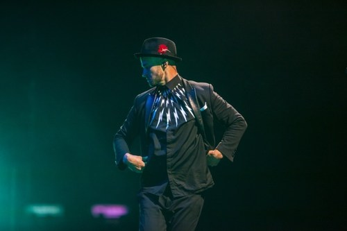 Justin Timberlake's Concert Is #1 Concert On The Live Nation Channel On Yahoo. (PRNewsFoto/Live Nation ...