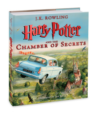 Scholastic releases cover of upcoming Illustrated Edition of J.K. Rowling's Harry Potter and the Chamber of Secrets. Illustrated by Jim Kay, the hardcover illustrated edition will be published worldwide on October 4, 2016.