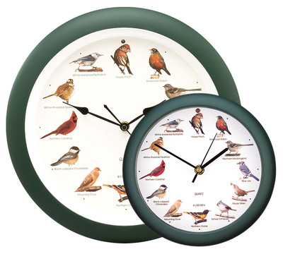 MFA brings back wildly popular Original Singing Bird Clock for limited time.  (PRNewsFoto/Mark Feldstein & Associates, inc.)