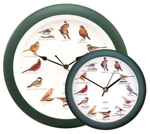 MFA brings back wildly popular Original Singing Bird Clock for limited time.  (PRNewsFoto/Mark Feldstein & Associates, inc.)