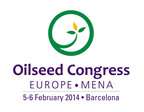 Inaugural Oilseed Congress Europe/MENA 2014(SM) brings industry insights to Barcelona in February