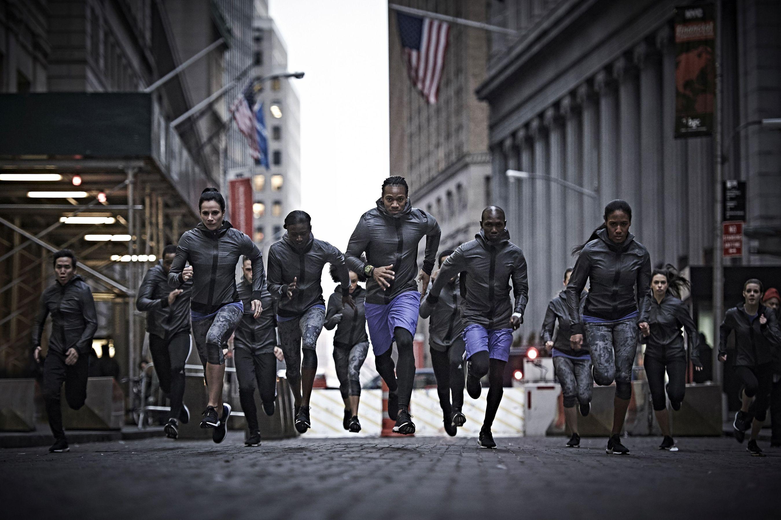 adidas Ultra BOOST. A Running Revolution (PRNewsFoto/adidas)