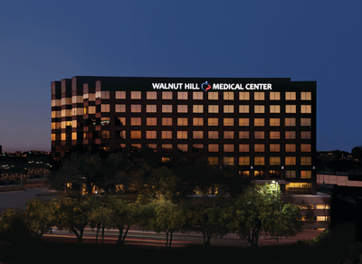 Walnut Hill Medical Center, a new 100-bed full service hospital located in Dallas, Texas, has received accreditation from The Joint Commission. (PRNewsFoto/Walnut Hill Medical Center)