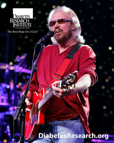 Just off the Mythology Tour, Barry Gibb and his band are scheduled to perform at the Love and Hope Ball, benefiting the Diabetes Research Institute, Valentine's Weekend. (PRNewsFoto/Diabetes Research Institute Foundation) (PRNewsFoto/DIABETES RESEARCH INSTITUTE FDN)