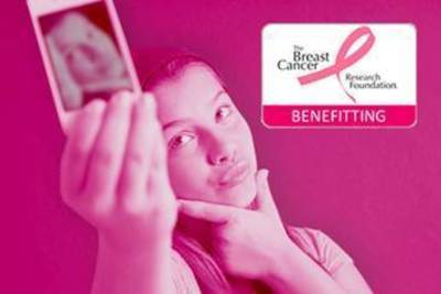 etouches will donate $3 to The Breast Cancer Research Foundation for every selfie taken at AIBTM with the hashtag #selfiesgopink (PRNewsFoto/etouches)