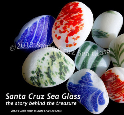 Santa Cruz Sea Glass, the story behind the treasure.  (PRNewsFoto/Santa Cruz Sea Glass)