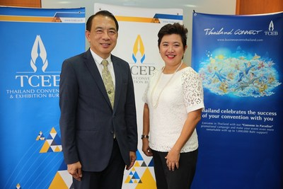 Thailand Convention and Exhibition Bureau (Public Organization) or TCEB is organising the 'Convention Day', in a new format for the first time to honour Thai associations winning bids for international conventions between October 2015 -- September 2016