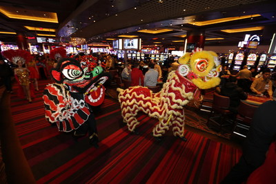 """Maryland Live! Casino, in Hanover, MD, celebrates the """"Year of the Monkey"""" with a traditional Lunar New Year Festival on Friday, February 5, 2016. The Festival will feature an authentic Cai Qing ceremony, Lion Dances, music, a martial arts demonstration, and more. Attendance is free for all Live! Rewards Card members. Visit marylandlivecasino.com"""