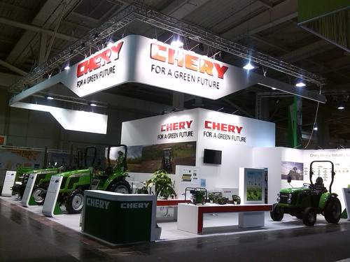CHERY H.I. is committed to supplier of global agricultural production whole-course mechanization solution.  (PRNewsFoto/Chery Heavy Industry Co., Ltd.)