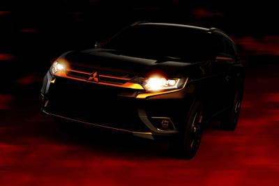 2016 Mitsubishi Outlander New York International Auto Show Teaser