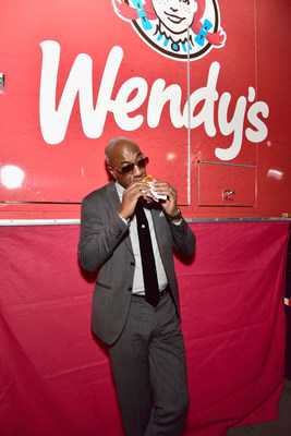 Wendy's scored big with fans at Rolling Stone's fifth annual Big Game Bash in San Francisco by keeping the festivities going late into the night serving fresh, made-to-order Dave's Single hamburgers and Frosty desserts. Even Comedian J. B. Smoove stopped by the Wendy's food truck for a deliciously different hamburger before calling it a night at San Francisco Design Center on February 6, 2016 in San Francisco, California.